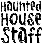 Haunted House Staff Halloween T-shirts Gifts