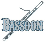 Bassoon Woodwind Band Member t-shirts gifts