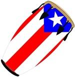 Conga Puerto Rico Flag t-shirt gift