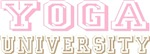 Pink Yoga University T-shirts Gifts