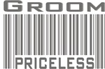 Groom Priceless Bar Code T-shirts Gifts