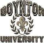 Boynton Family Name University T-shirts Gifts