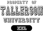 Property of Tallerson Name University T-shirts Gif