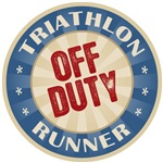 Off Duty Triathlon Runner T-shirts Gifts