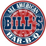 Bill's All American BBQ T-shirts Gifts
