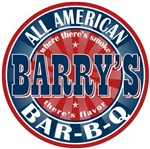 Barry's All American Bar-b-q T-shirts Gifts