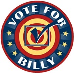 Vote for Billy Personalized T-shirts Gifts