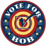 Vote for Bob Personalized T-shirts Gifts