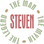 Steven the Man the Myth the Legend T-shirts Gifts