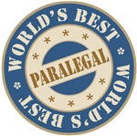 World's Best Paralegal T-shirts Gifts