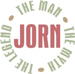 Jorn the Man the Myth the Legend T-shirts Gifts