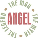 Angel the man the myth the legend T-shirts Gifts