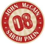 John McCain Sarah Palin 08 T-shirts Gifts