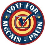 Vote For McCain Palin T-shirts Gifts