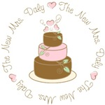 The New Mrs. Daly Personalized Wedding T-shirts Gi