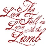 Lion fell in love with lamb Twilight Tees Gifts