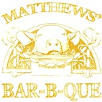 Matthews Last Name Vintage Barbeque Tees Gifts
