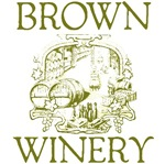 Brown Vintage Family Name Winery Tees Gifts