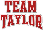 Team Taylor Custom Personalized Tees Gifts