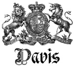 Davis Vintage Family Name Crest Tees Gifts