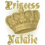 Princess Natalie Vintage Name Tees Gifts