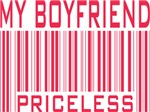 My Boyfriend Priceless Valentine Barcode Tees Gift
