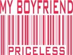 My Boyfriend Priceless Valentine Barcode Tees Gift