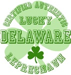 Authentic Lucky Delaware Leprechaun Tees Gifts