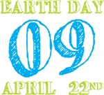 Earth Day 2009 April 22nd Tees Gifts