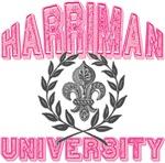 Harriman Last Name University Tees Gifts