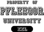 Property of Pfleegor University Tees Gifts