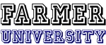 Farmer Last Name University Tees Gifts