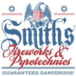 Smith's Fake Fireworks Company Tees Gifts