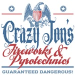 Crazy Jon's Funny Fireworks Company Tees Gifts