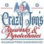 Crazy Jon's Funny Fireworks Company Tees Gifts