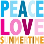 Peace Love Summertime Tees Gifts