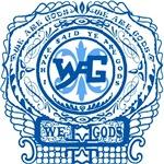 Women's Wag Ornate #1 blue