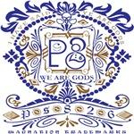 Men's Ps826 Ornate #2a Blue&brown