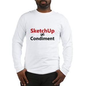 SketchUp on White