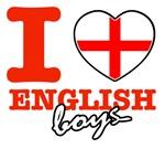 I love English boys