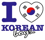 I love Korean boys