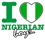 I love Nigerian boys