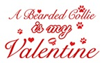 A Bearded Collie is my valentines