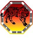 Kung Fu Tiger  and symbol