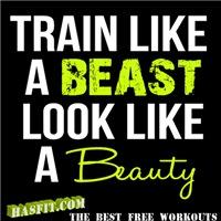 Train Like A Beast Workout Gear