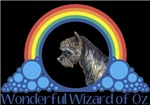 With all the colors of the rainbow, this Wonderful Wizard of Oz inspired design captures Toto Wonderful Wizard of Oz.  The perfect gift for any Oz fan.