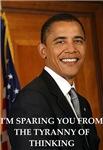 a funny anti obama joke on gifts and t-shirts.