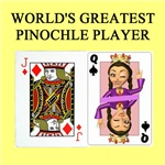 world's greatest pinochle player gifts t-shirts