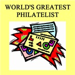 world's greatest philatelist gifts t-shirts