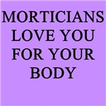 mortician gifts t-shirts